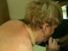 Zwei bbw blonde Milf harte Gruppe mit schwarzen Schwänzen