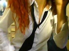 Fransız redhead 2 Nikita 1fuckdatecom'dan