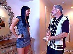Ashli Orion gets seduced by older perv