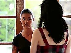 Sexy lesbians Aria n Aria in asslicked