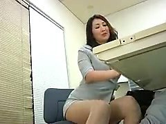 Busty hottie spreads wide to get fingered and fucked by her