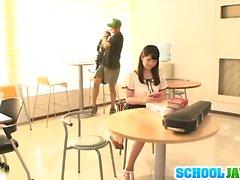 Deep stimulation with her nasty teacher