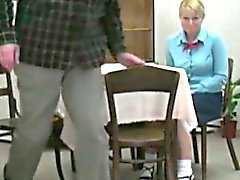 red ass after otk spanking
