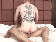 Brad Kalvo with Devan fuck in the bed