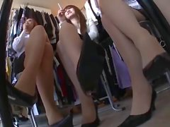 asian nylon feet and high heels shoeplay everywhere