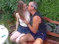 Adolescente por un del viejo hombre ( German ) f70