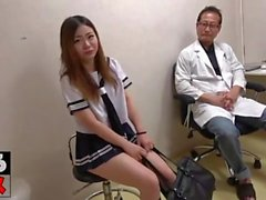 Asian Patient Fucked By Interracial Cocks