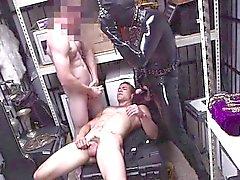 Nice ass dude encounters gay threesome