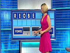 För rachel Riley - Underbar Stort tuttar rosa färgklänning