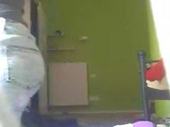 Geile Teen Jasmin vor der Webcam