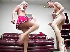 Brutal Femdom Ball Busting 07 - Scene 3