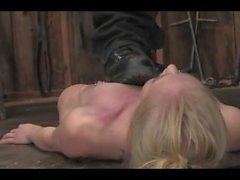 petite blonde trampled crushed and choked
