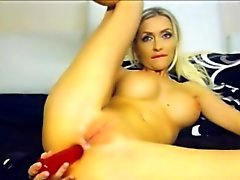 Blonde Model Tight Pussy Mastubation Webcam