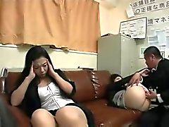 Japonais fille de mère Chantage Fucked ( non censuré )