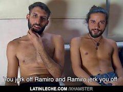 LatinLeche - латинский красавчик привыкает
