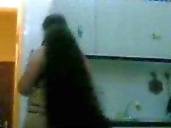 Arabische niqab bellydance