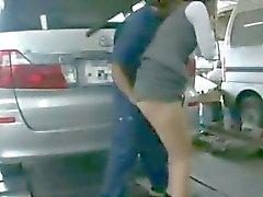 Girl ravished in Car Garage
