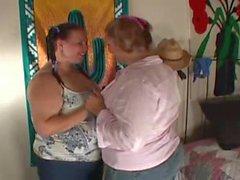 bbw big tits lesbian strapon sex scene 2