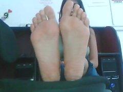Bruna Latinassa piedi