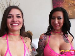 PervCity Anal MILF Lily Lane Corrupts Teen Luna Lovely
