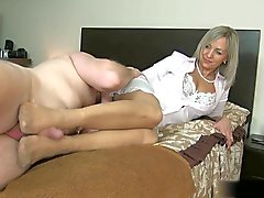 Sexu Wife Pantyhose Footob 6