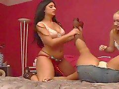 Lesbian takes down