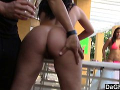 College Blowjob Party