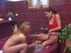 Cascata dourada Lesbian