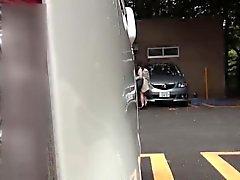 Japanese babes urinate