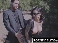 PORNFIDELITY Big Cock and Hard Fuck Cheer Up Sad Lily Lane