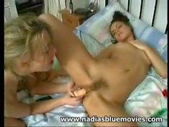 Andrea и # 039_Nadia и # 039_ Спинкс и Тэмми Олдхэм