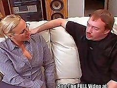 Tall Blonde School Teacher Slut Training