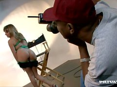 Lexi Love Is Being Photographed by a Black Man Who Fucks Her Asshole