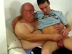 Farfar och grabbbarn
