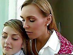 Tanya von Tate und die Staci Silver 3some