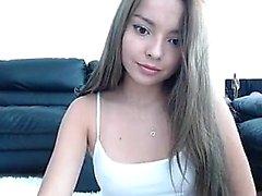 Hot teen on webcam