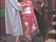 Japanilainen kimono bondage