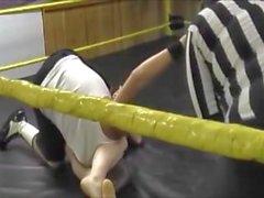 Mixed wrestling hot female domination