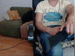 прямой парни ногами на веб-камеру - латинскими блондины