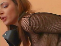 Hard fucking in Fishnet