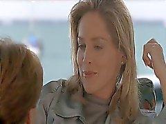 Sharon Stone per primo a fare con un uomo accanto a e su