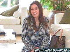 Aubrey Porn Amateur teen petite adult with FTV
