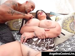 Cuban Dictator Angelina Castro Does Ice Ice Baby In Pussy!