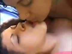 Watch some very hot lesbian kiss, see the way they suck