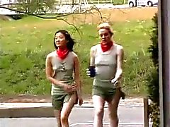 Hairy Little Anal Scout And Her Asian Pal Fcuk Old Man