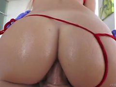 Hot Curvy Blonde Slut Natalia Starr Gets Fucked In Her Tight Asshole!