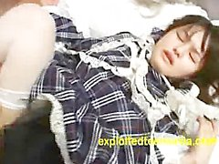 Japanese Cosplay Maid Teen 18 Plus Takes It Fast & Hard