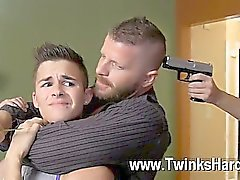 Pornografia Gay Gay de Andy Taylor, de Ryker Madison eo Ian Levine foram de 3 do lil as prostitutas