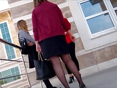 Turkish Black Pantyhose Legs