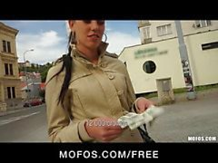 Public Pickups - Natural Czech model is offered cash for sex